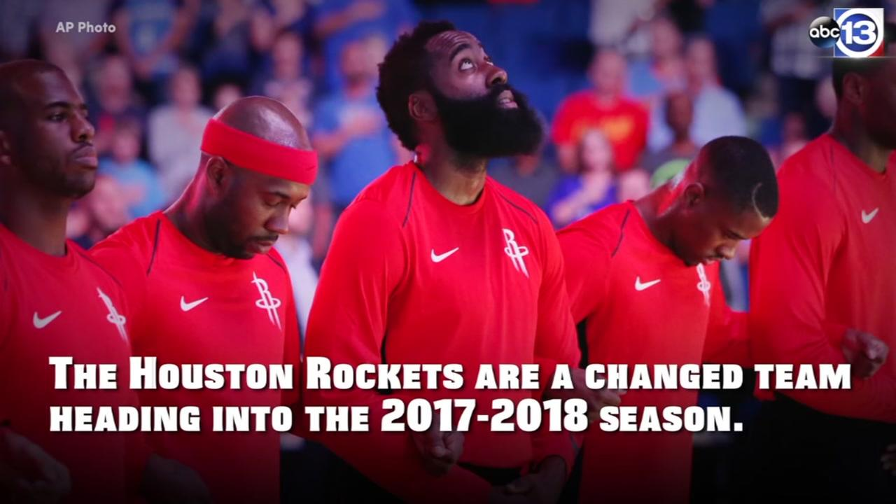Houston Rockets enter 2017-18 a changed team