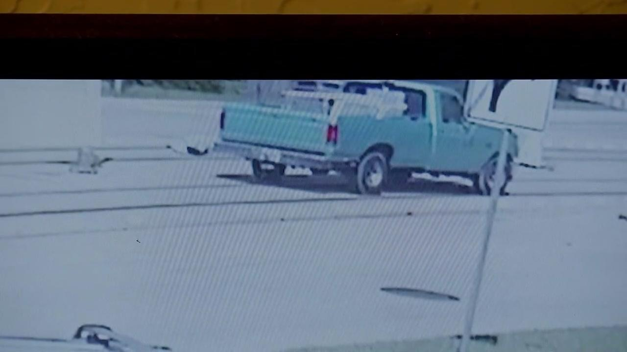Full surveillance video of woman struck by truck