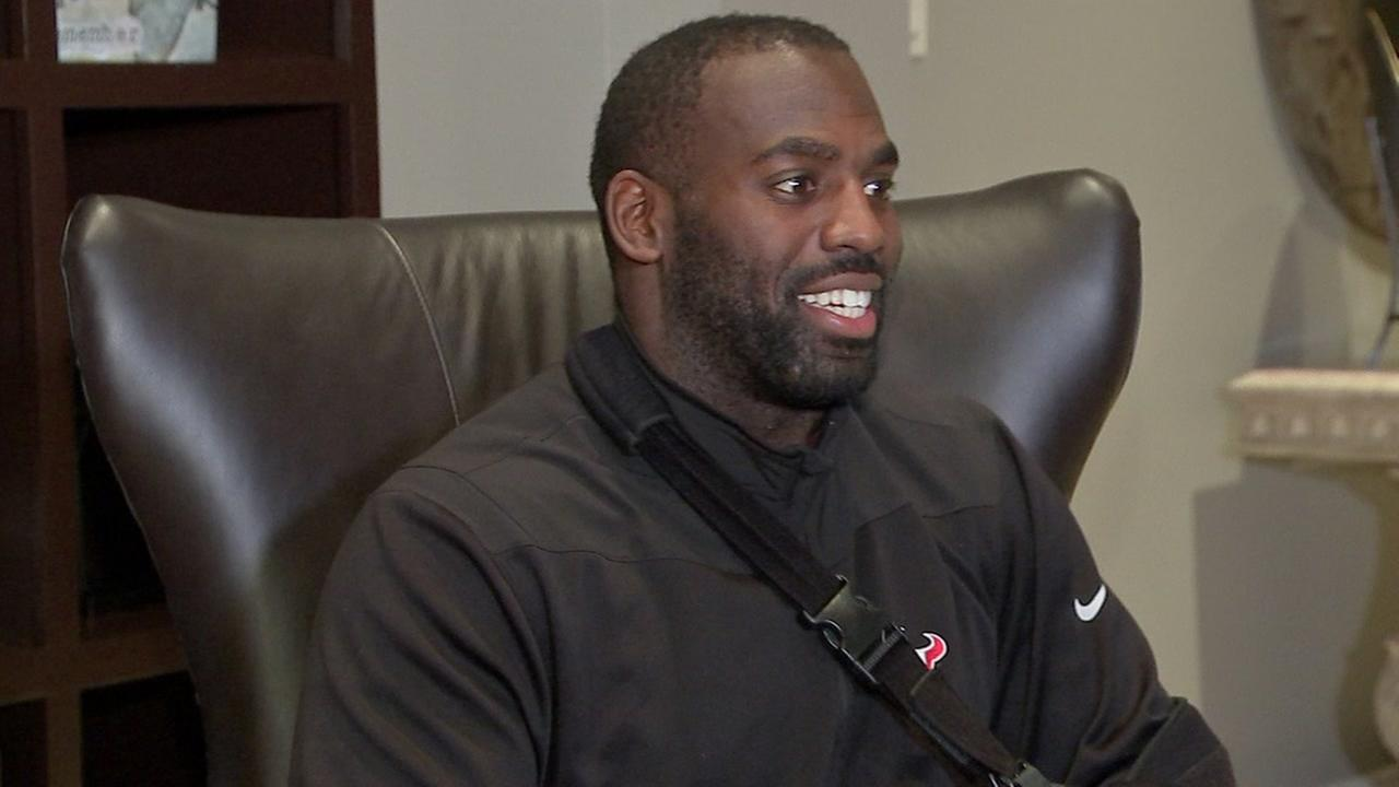 Whitney Mercilus talks to ABC13s David Nuno