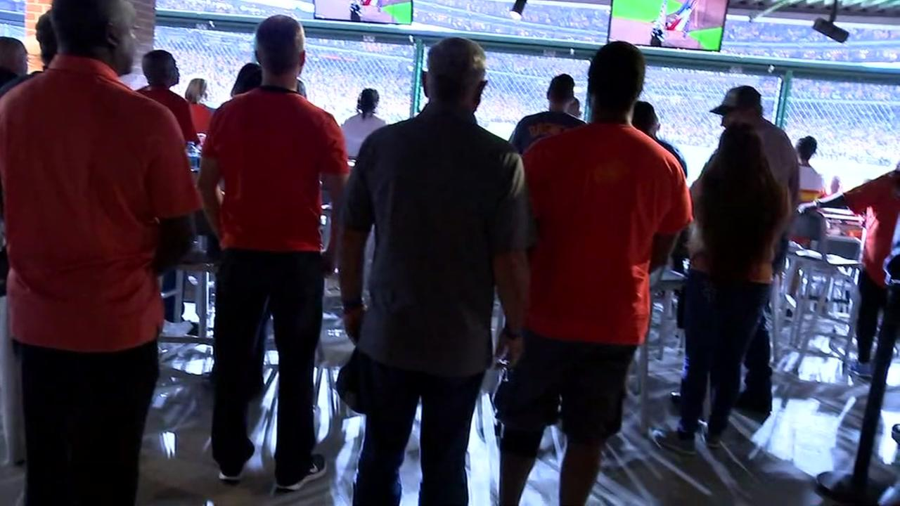 Mattress Mack purchases seats for first responders at Astros game