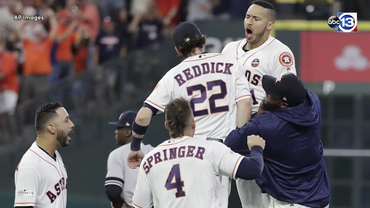 A look back at the Astros playoffs