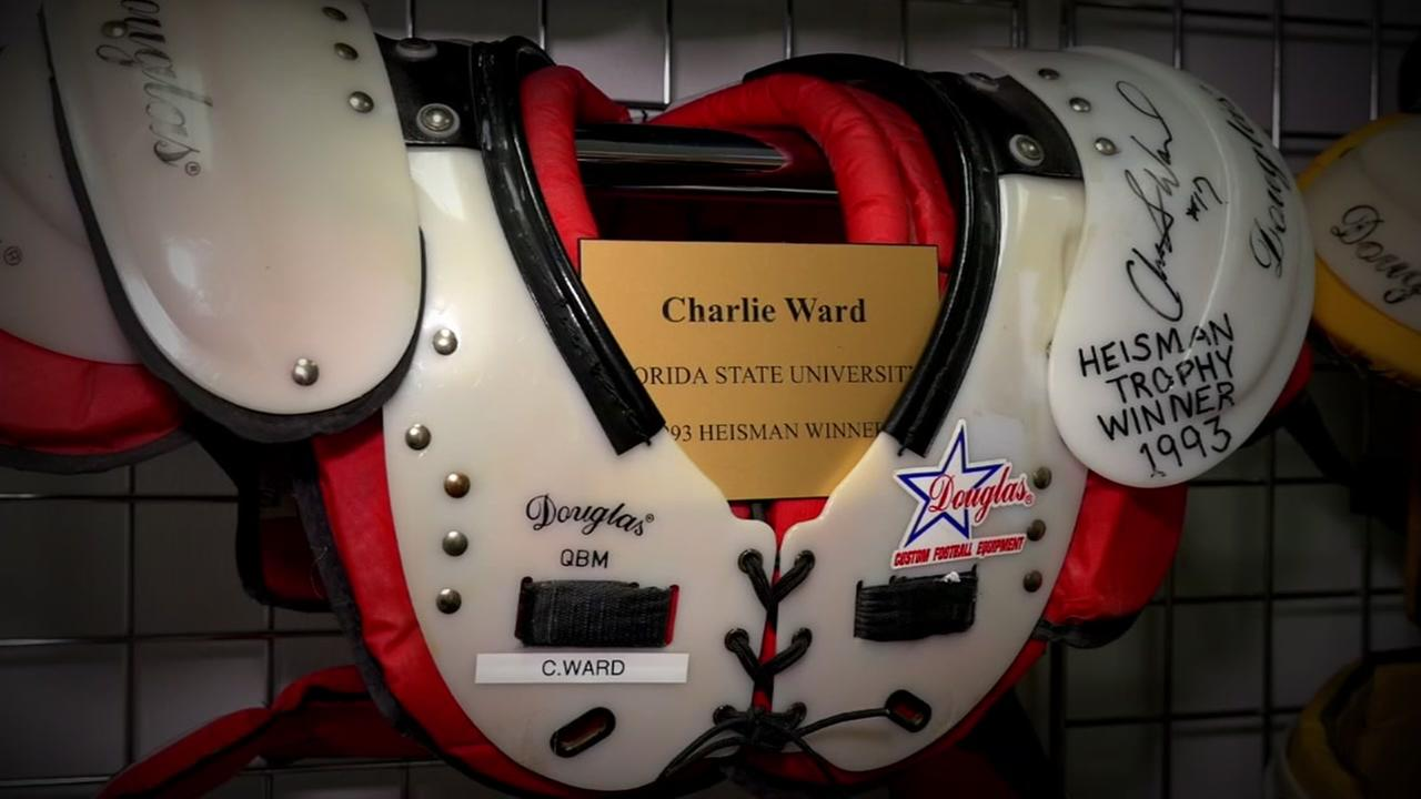 A behind-the-scenes look at the company that makes football pads for NFL teams