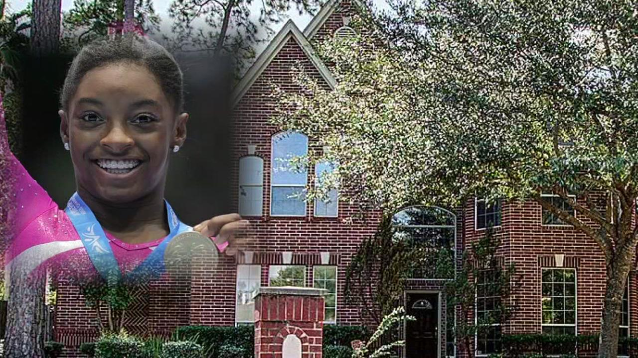Olympic gold medalist, Simone Biles house is up for sale