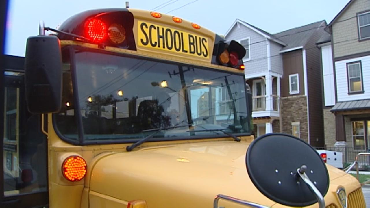 HISD buses