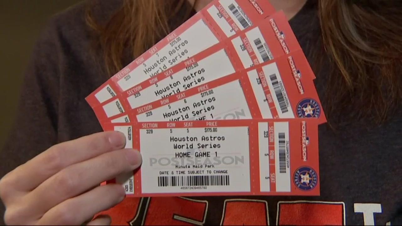 Spring family tricked into buying fake World Series tickets