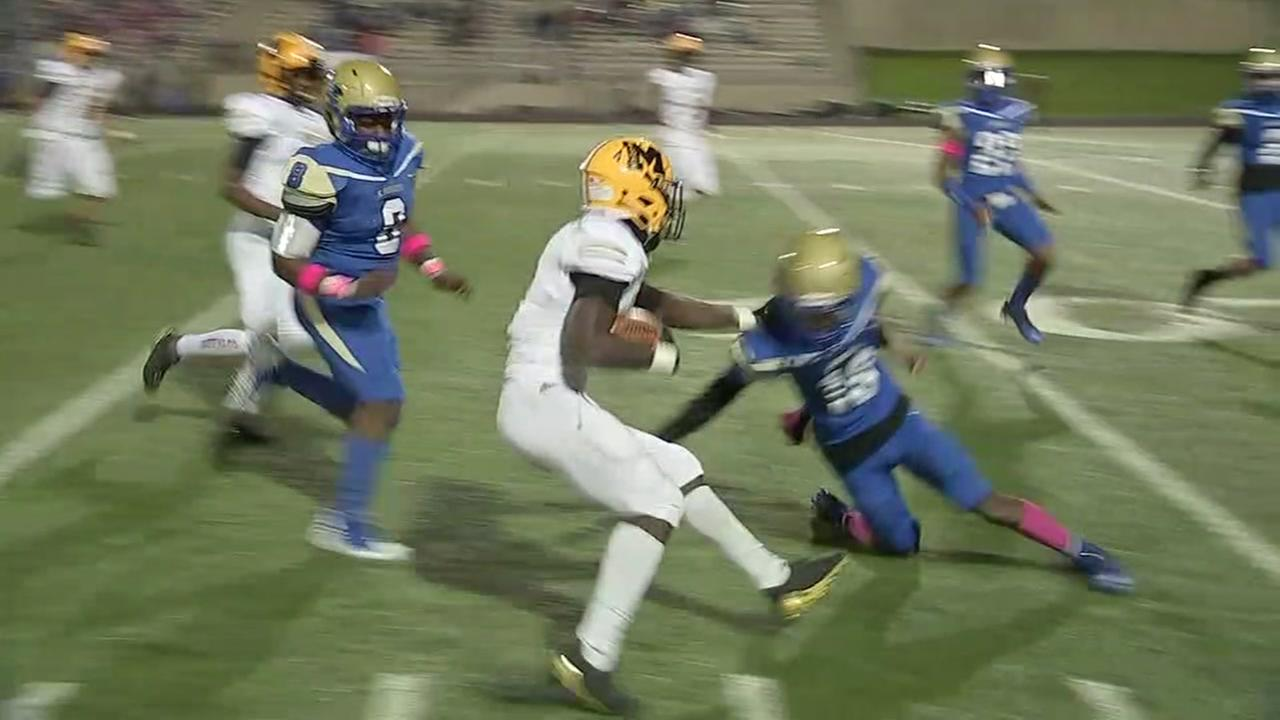 Marshall beats Elkins in ABC13s Game of the Week