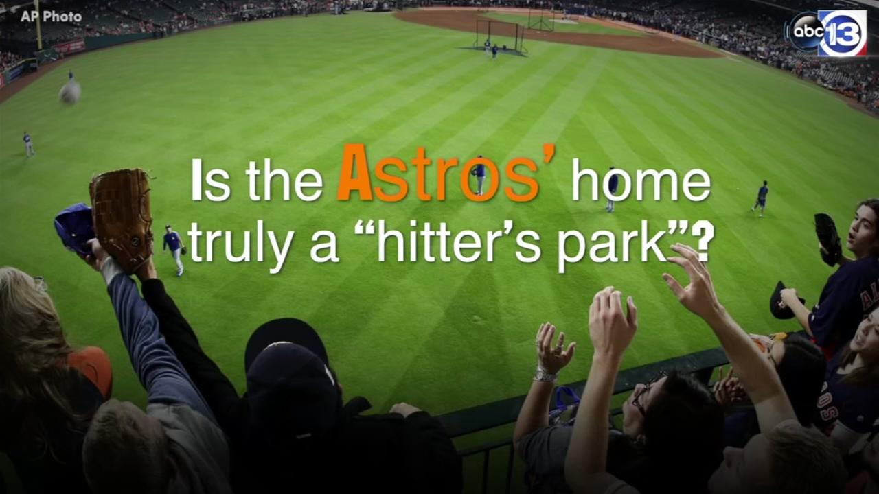 Hitters haven? Astros park a launchpad for home runs