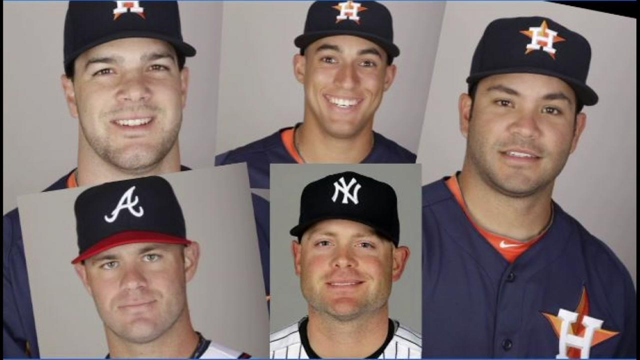 A look at the Houston Astros before they had beards