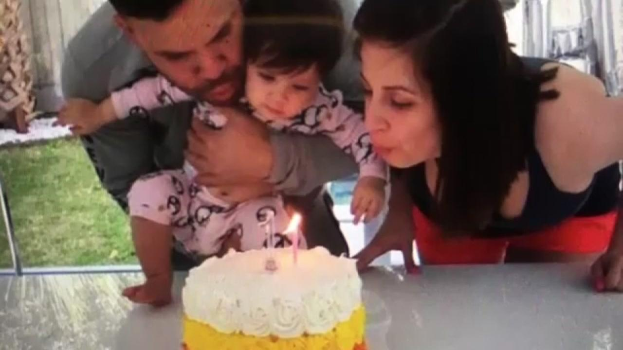 Little Melanie Andrea celebrated her 1st birthday with her dad, Astros star Jose Altuve, and his wife(Photos: neenaa27/Instagram)