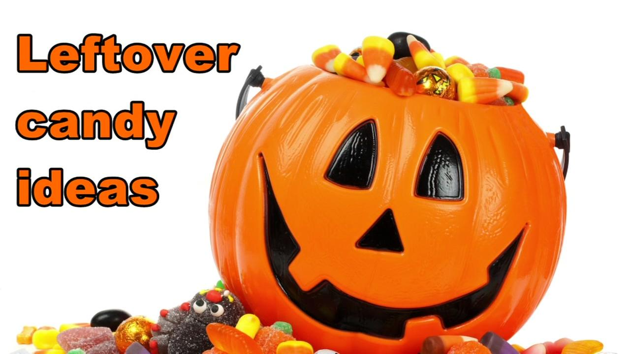 Ideas on what to do with leftover Halloween candy