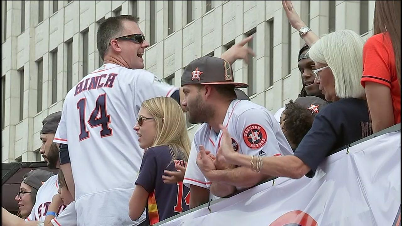 Astros Parade Best Moments