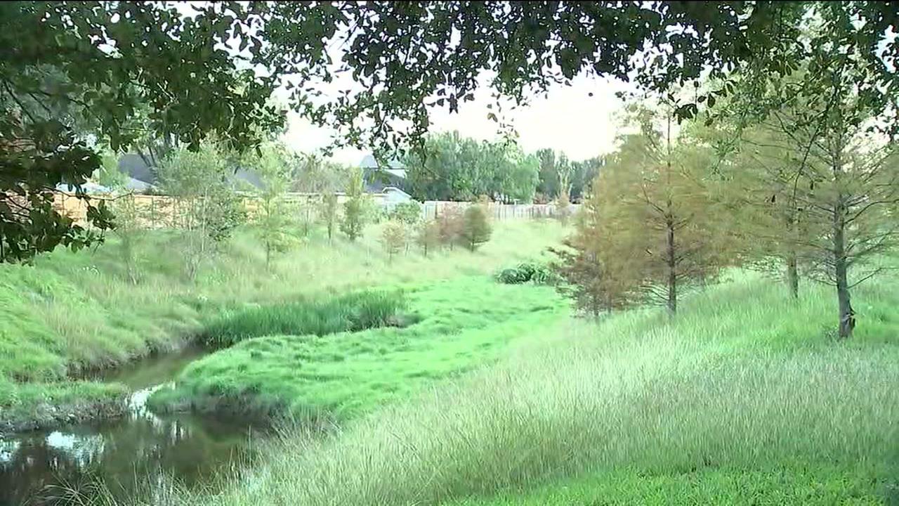 Womans body found in retention pond