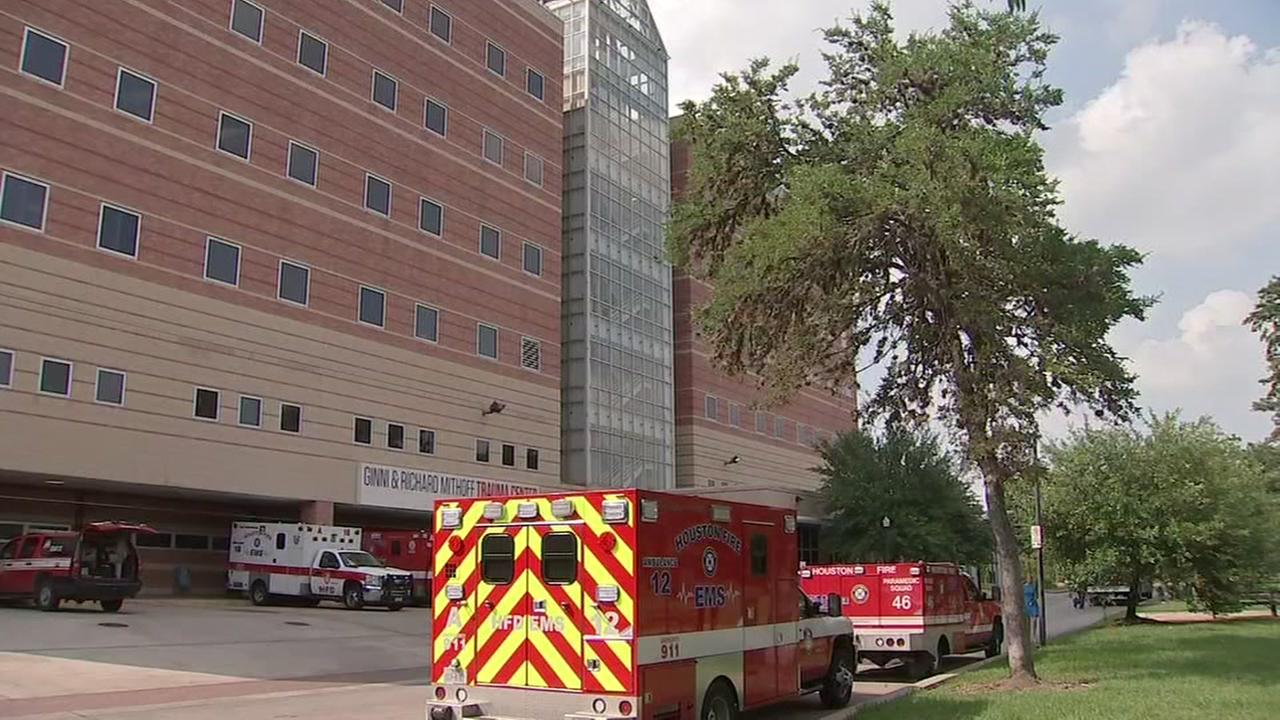 Firefighters respond after chemical spill at Ben Taub Hospital