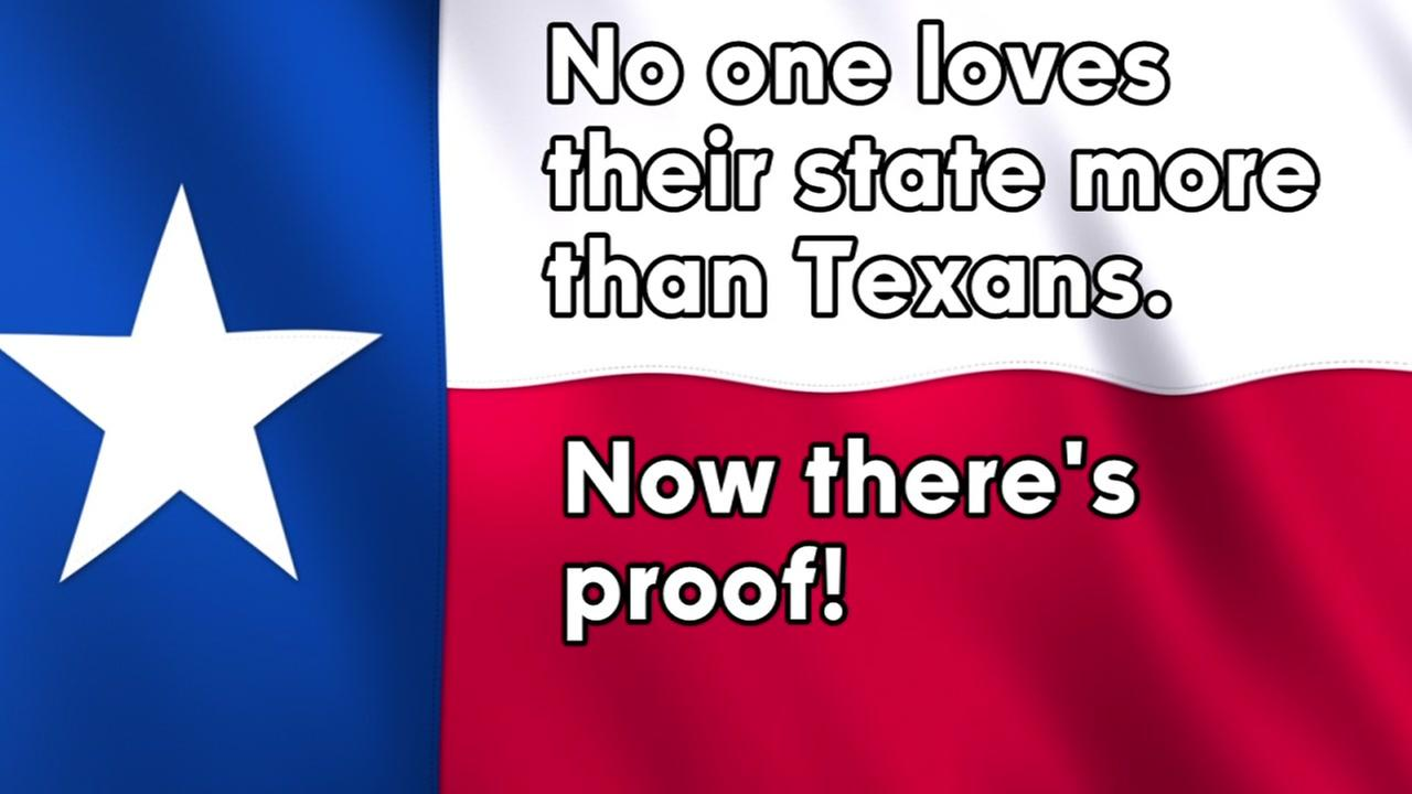Lending Tree has just proven what we already knew, no loves their state more than Texans