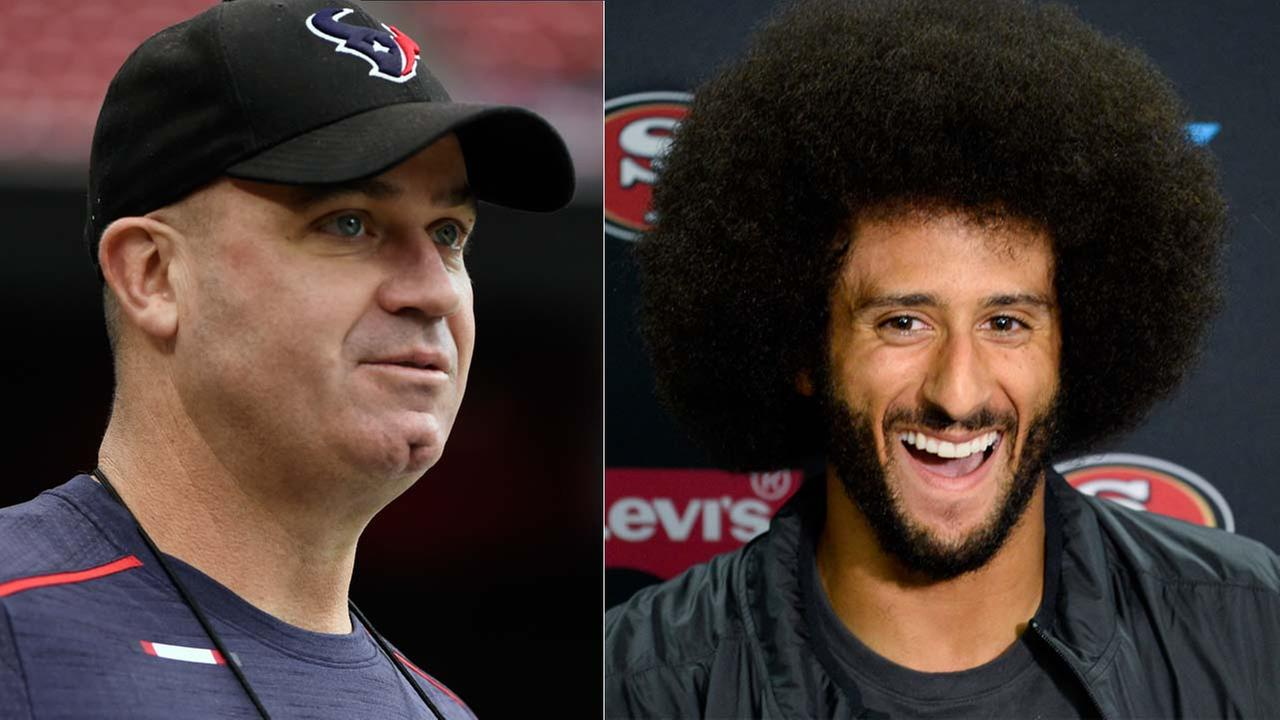 Bill OBrien says he has not been deposed in Kaepernick case