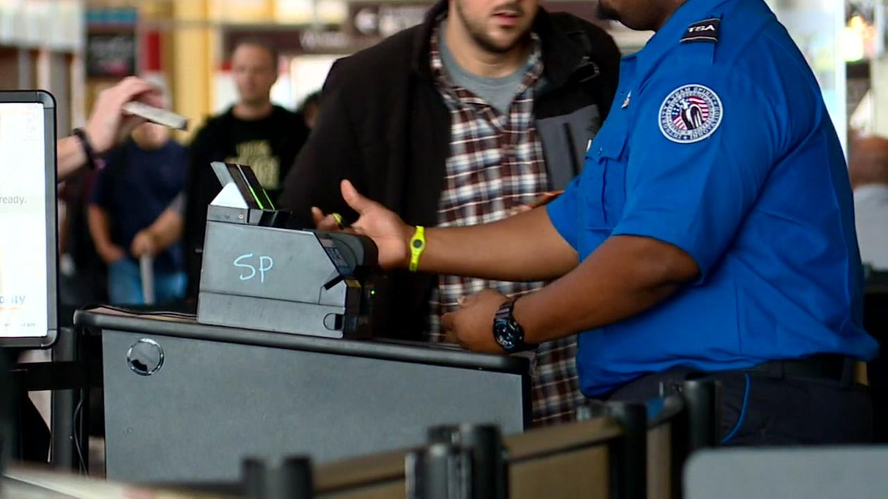 TSA screening failure