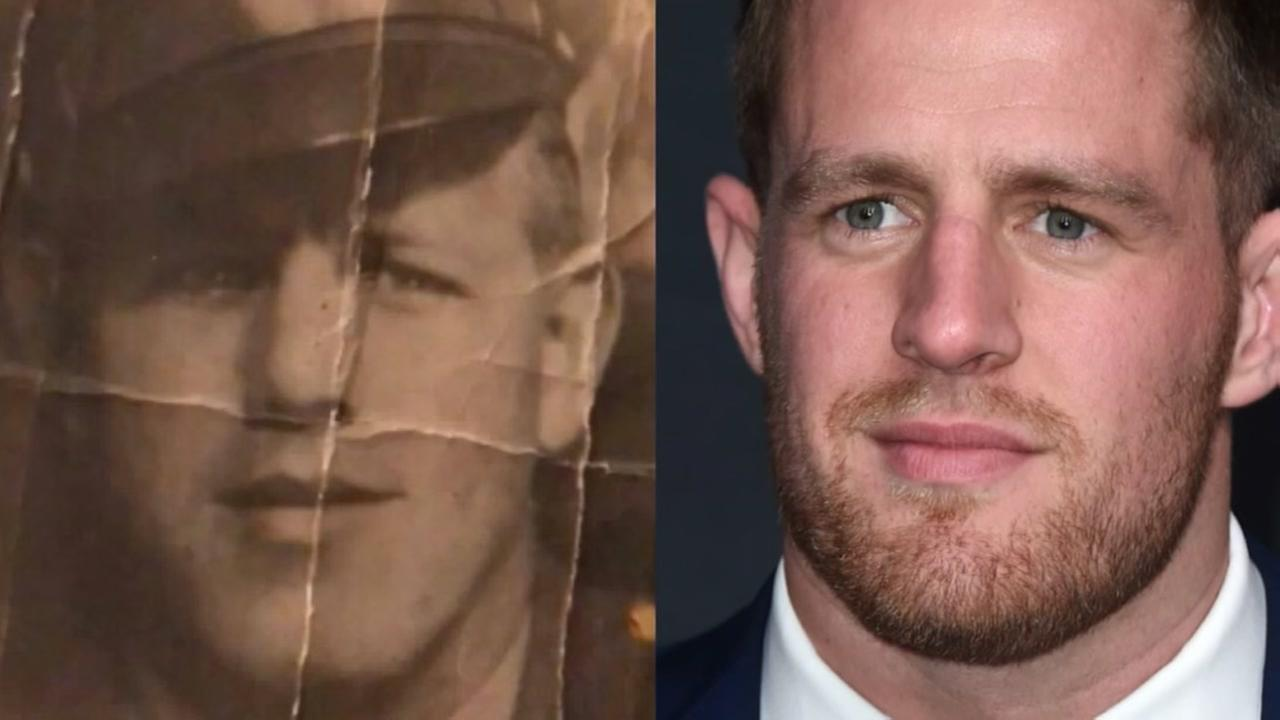Is Texans J.J. Watt a time traveler?
