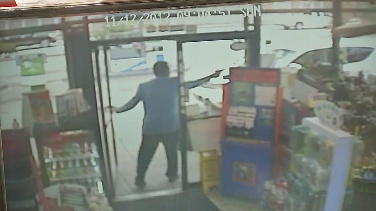 Robbery suspect killed in violent gas station shootout