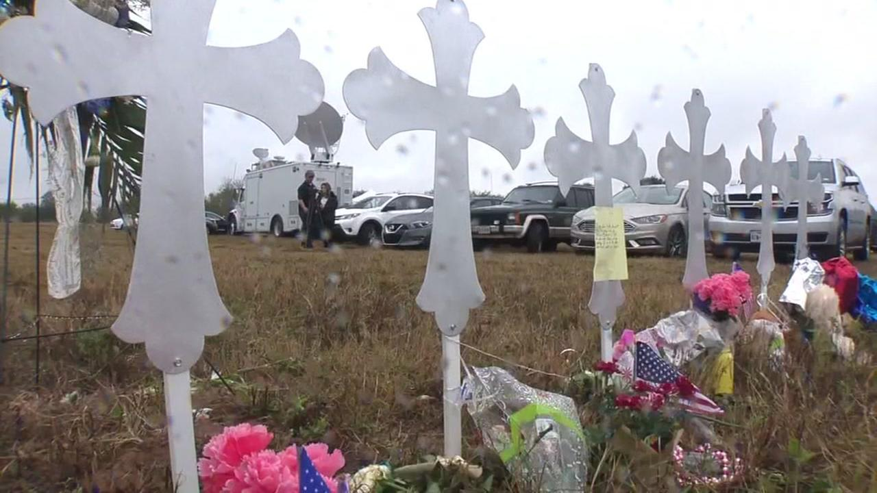 1st service held at Sutherland Springs church
