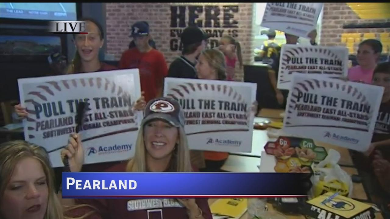 Pearland fans show support via watch parties