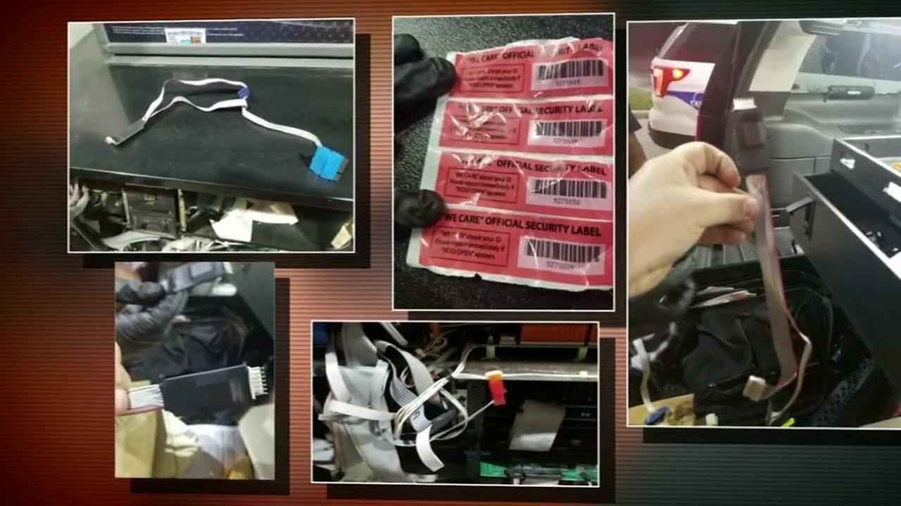 Skimmers found in Montgomery County