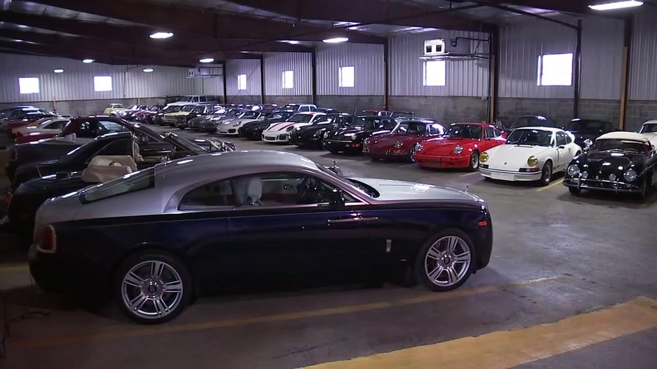 More than $20 million worth of cars kept at storage