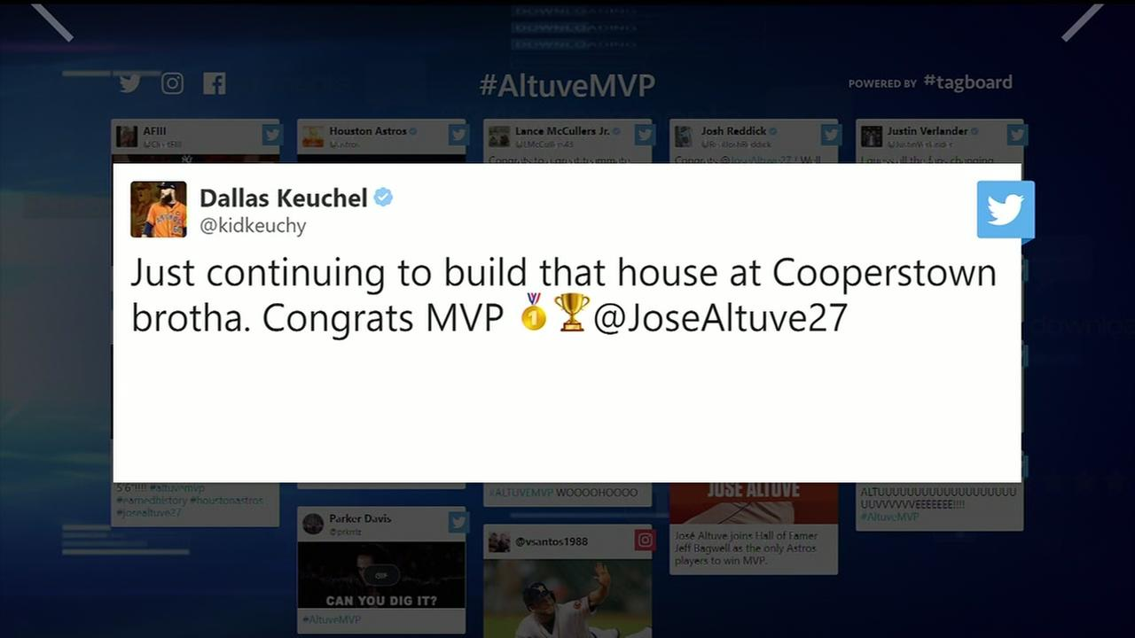 Reaction to Jose Altuves AL MVP award