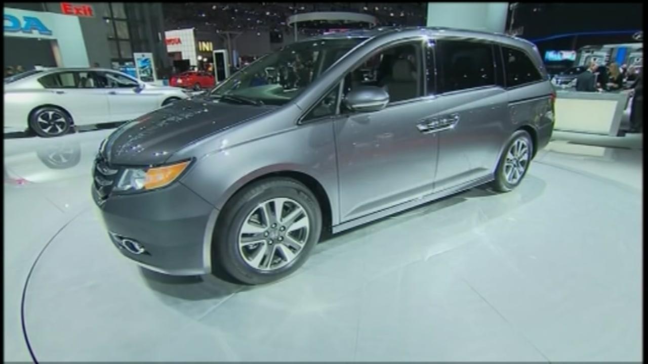 800,000 Honda Odyssey minivans recalled