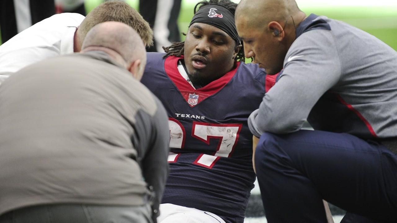 DOnta Foreman tore Achilles during Texans win