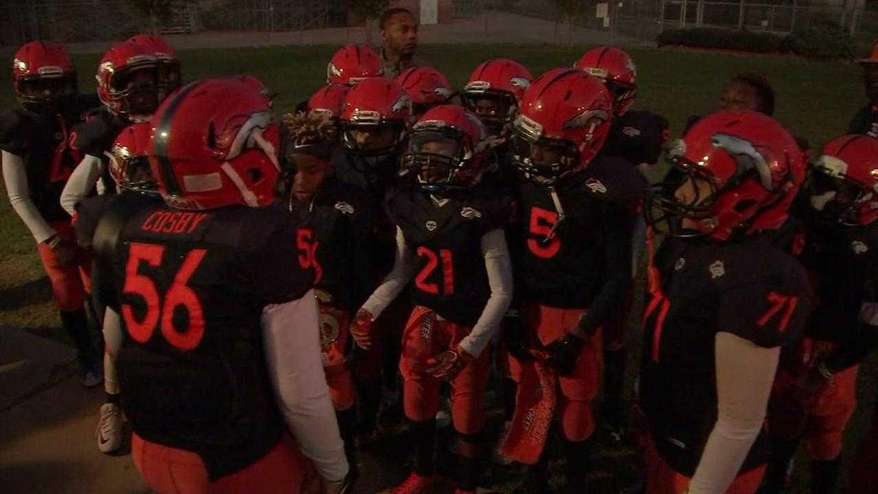 Youth football team learning life lessons through season