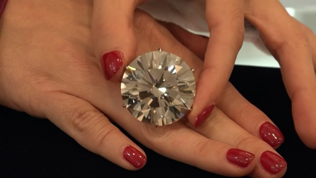 110-karat diamond going on auction in December