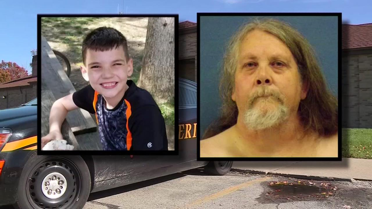 Man accused of killing boy by pinning him down