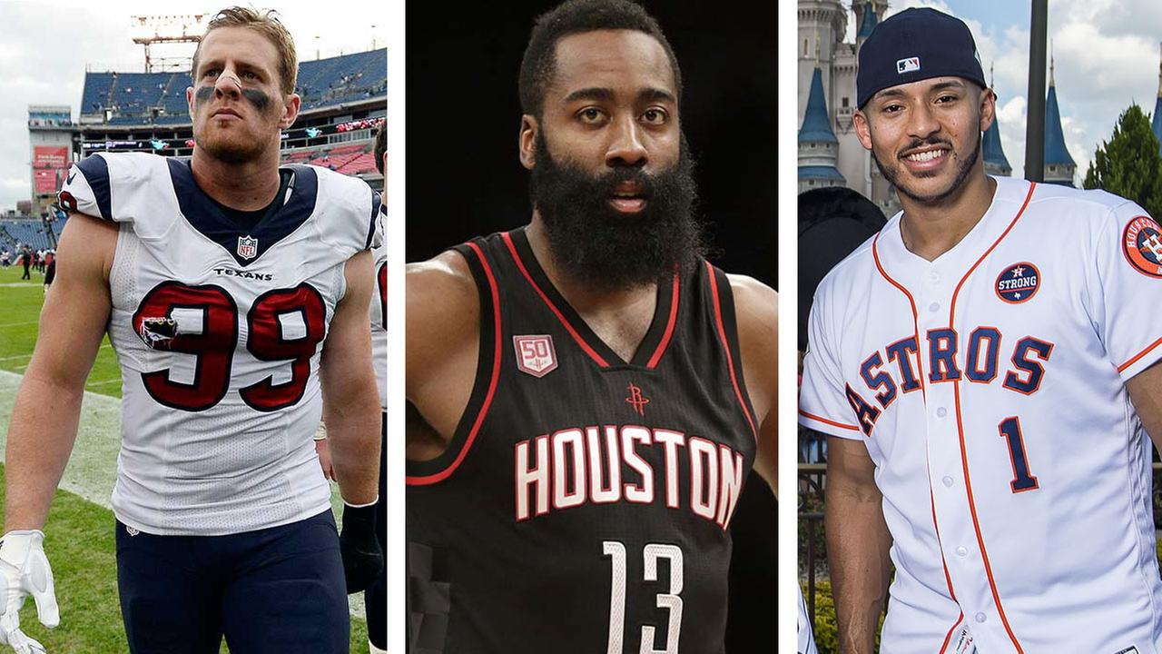 6 most charitable houston athletes and how you can help abc13 kristyandbryce Image collections