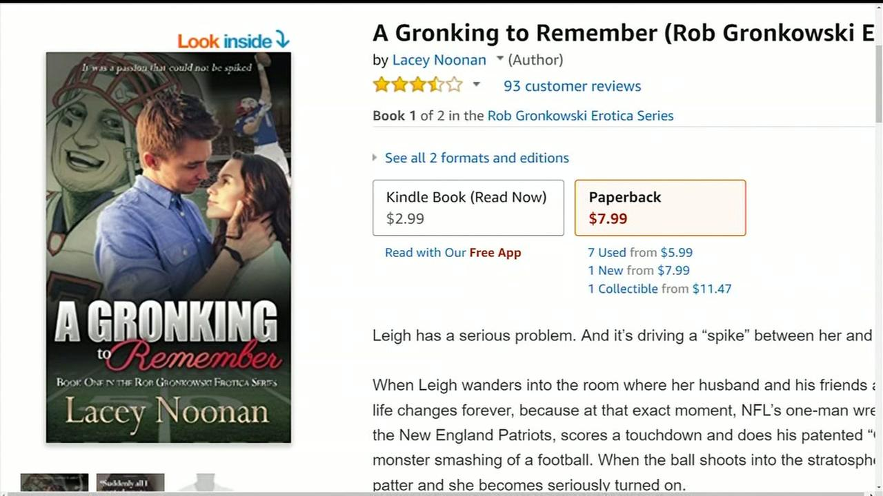 Couple sues over Gronking erotica