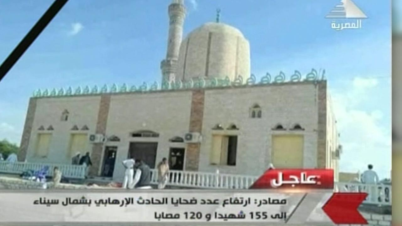 At least 200 killed in Egypt mosque attack