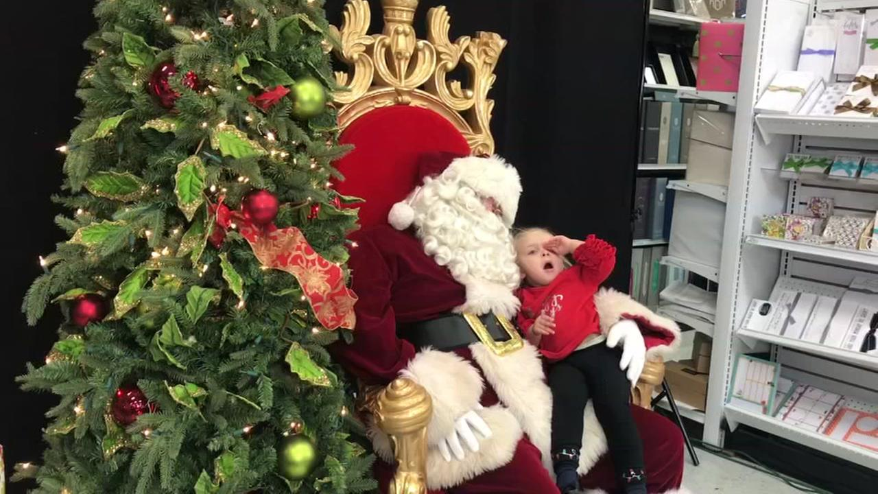Houston girl asks Santa for a nap for Christmas