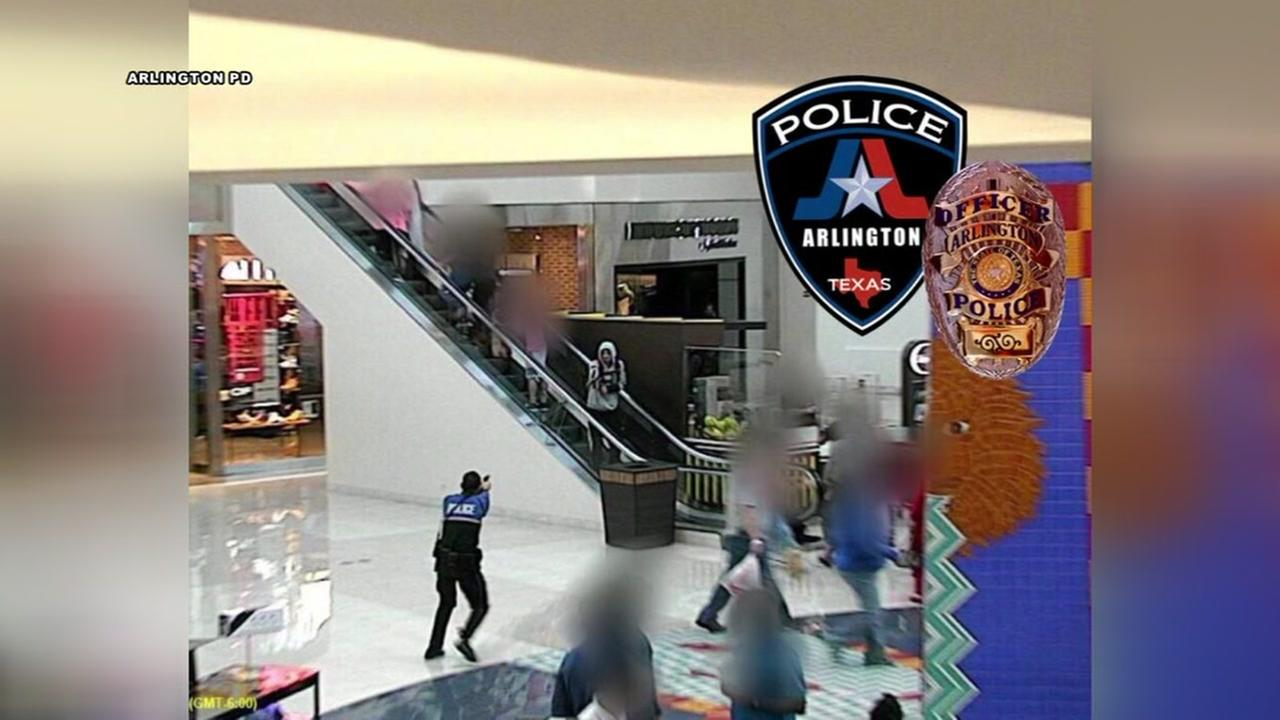 Arlington police shoot suspected shoplifter who pulled out BB gun