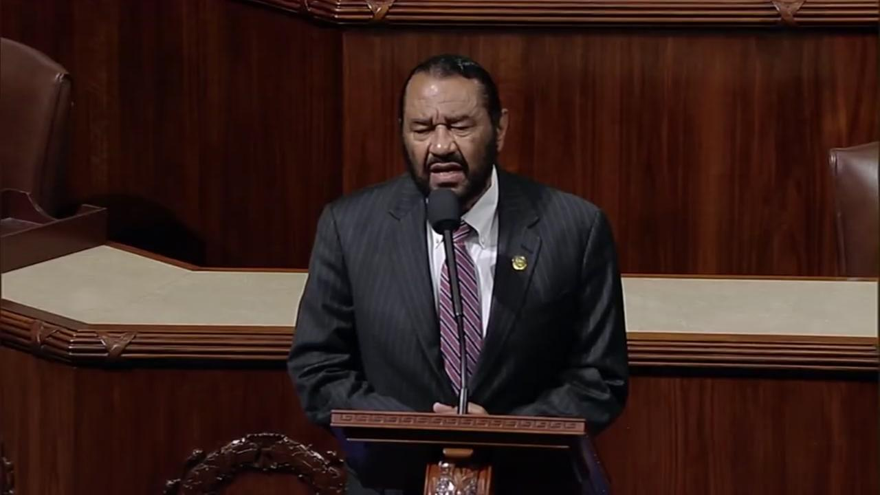 Rep. Al Green denies misconduct allegations stemming from 2007 incident