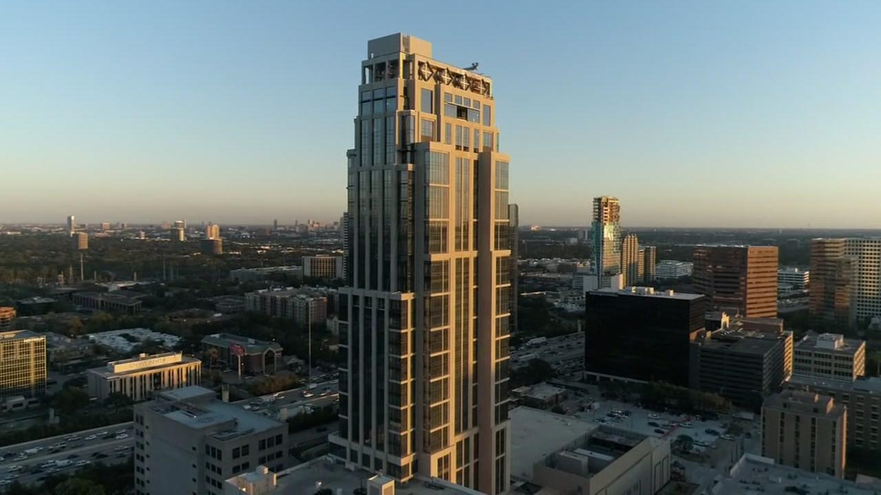SkyDrone 13 video of new highrise