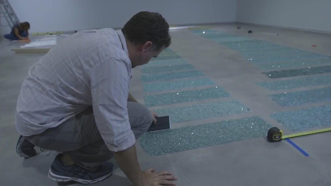 UH artist transforms street debris into art