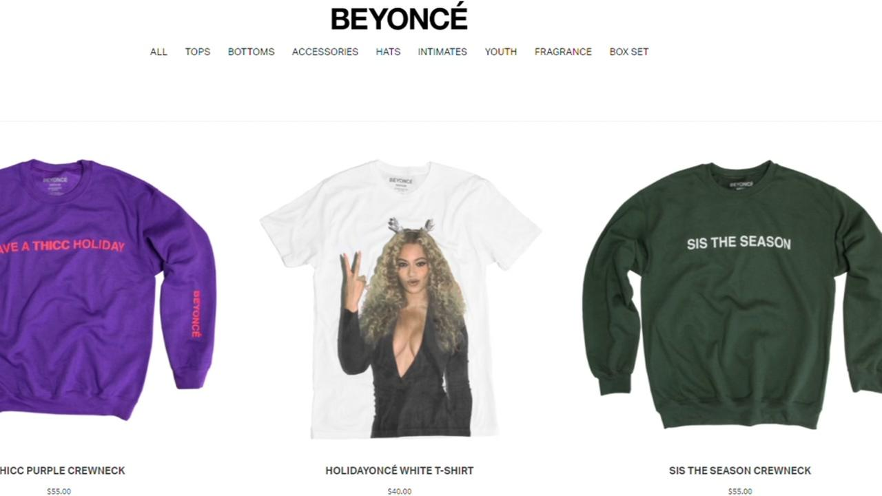 Have a Bey-rry Christmas with this Beyonce holiday collection