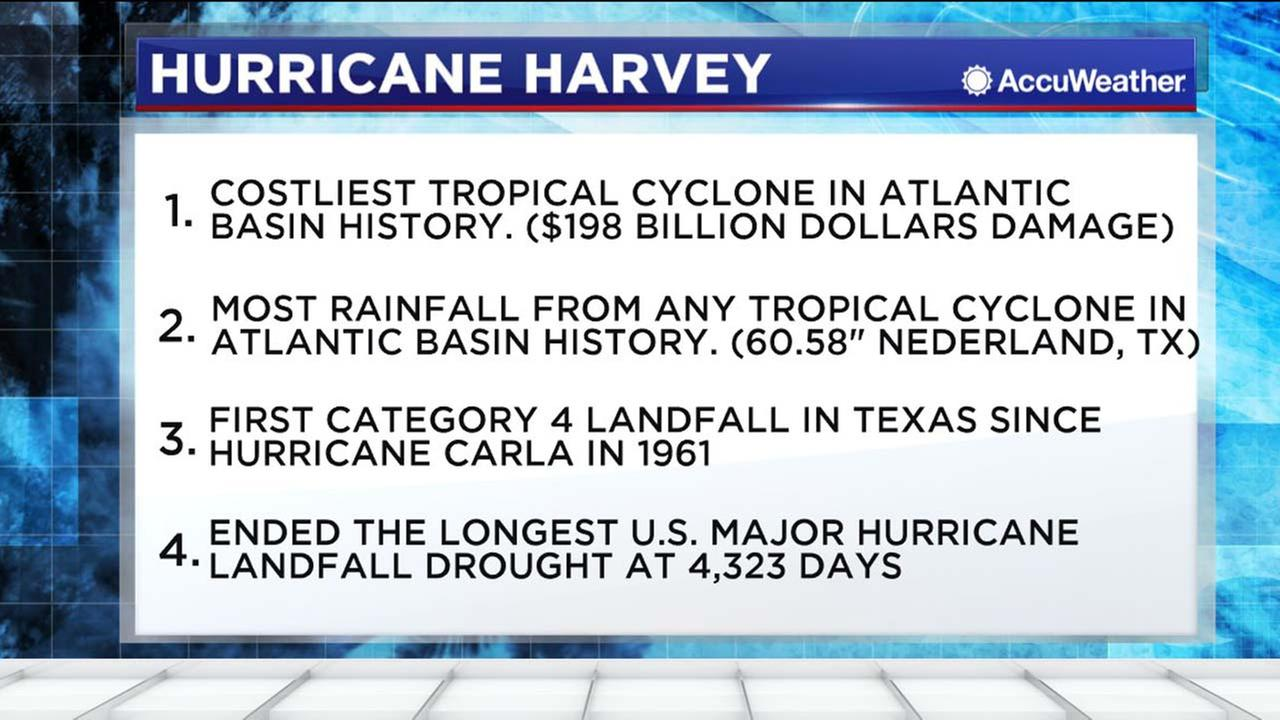 Costliest hurricanes on record