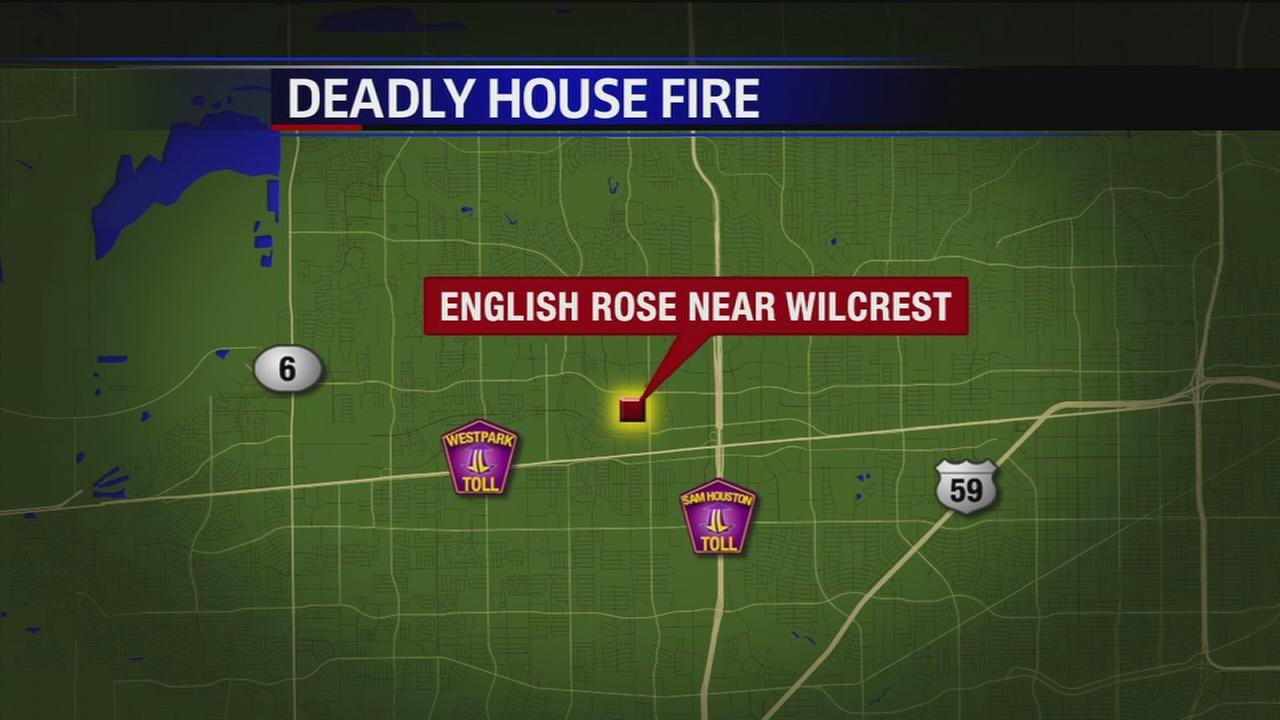 One dead in west Houston house fire
