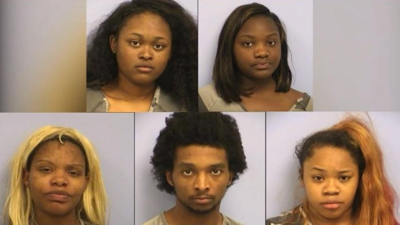 Five people from Houston charged with pepper spraying employee in Austin robbery