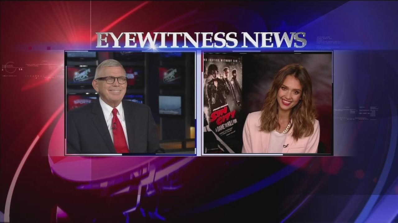 Don Nelson interviews Jessica Alba