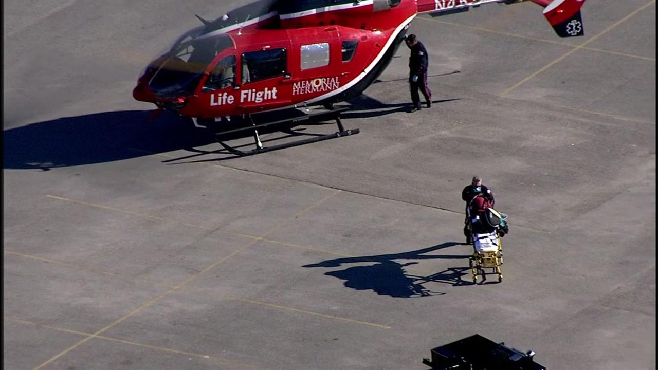 Life Flight called to report of person shot at gun range