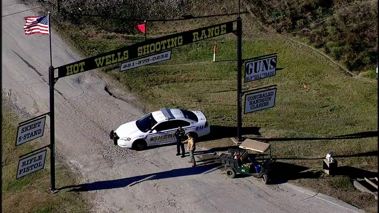 Man dies after accidental shooting outside NW Harris County gun range