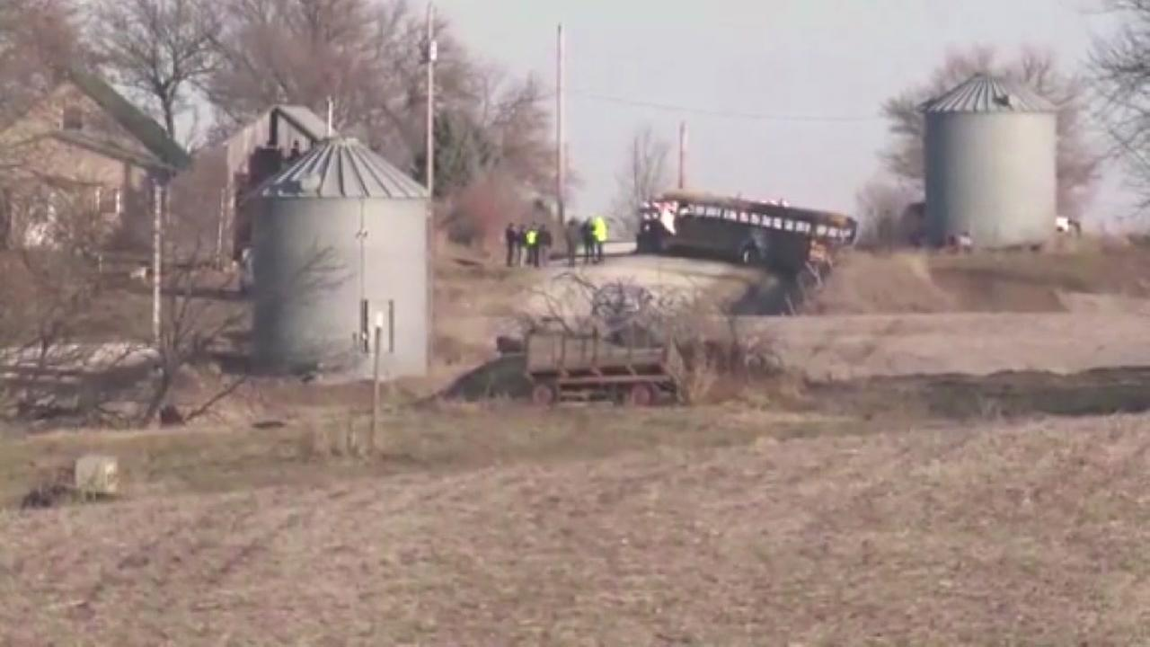 A bus driver and student were killed in a bus fire in Iowa
