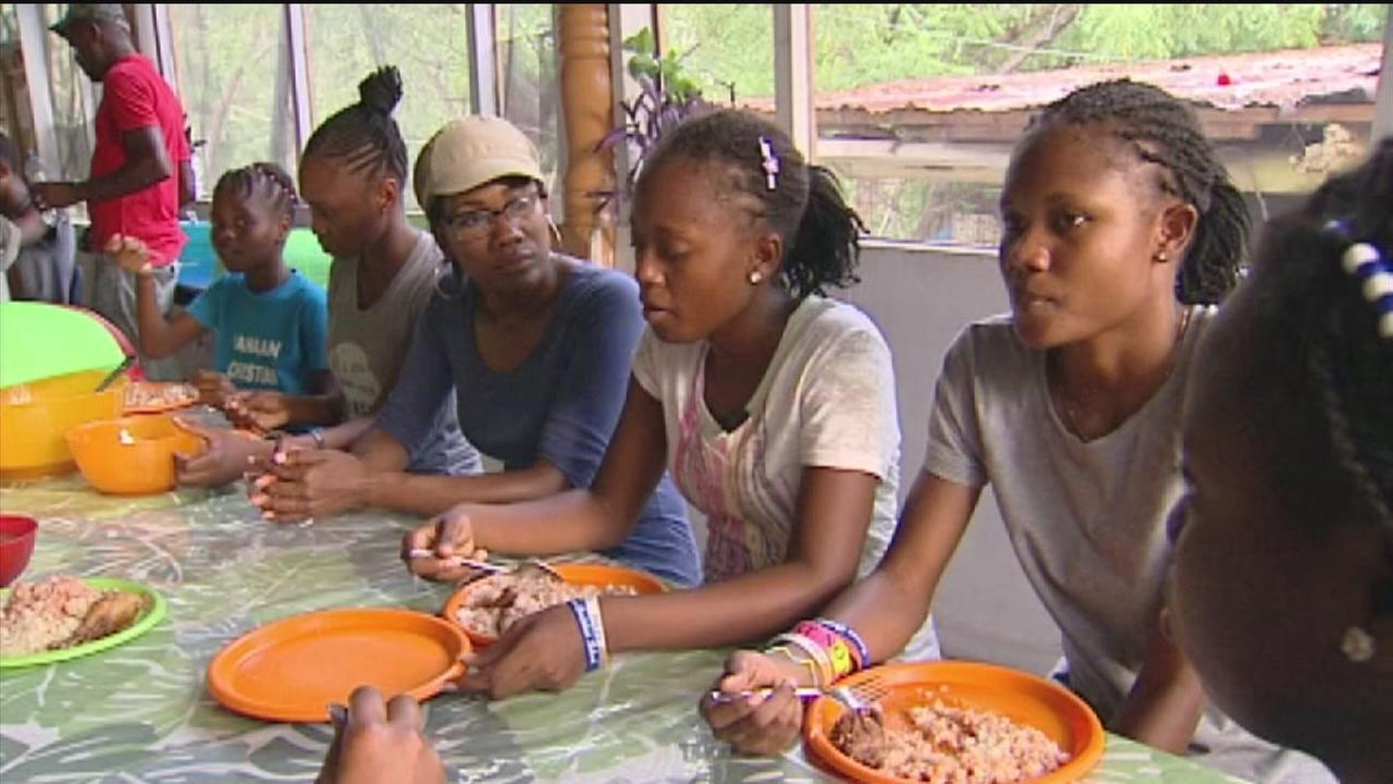 Haitian orphans just want the American dream