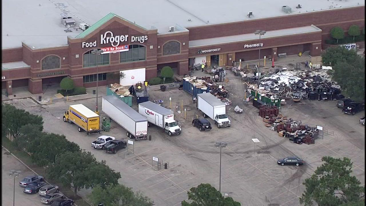 Kroger in Spring to reopen after damage by Hurricane Harvey
